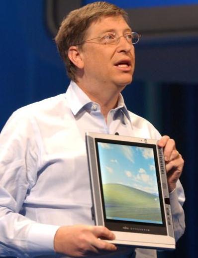 Bill Gates Introduces Windows Tablet PC Platform